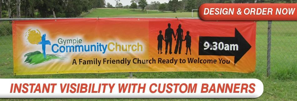 Standard Outdoor Banner Size Arts Arts