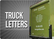 TRUCK LETTERS